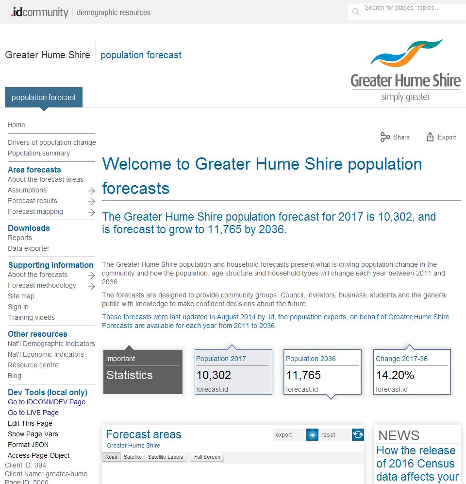 Greater Hume Shire