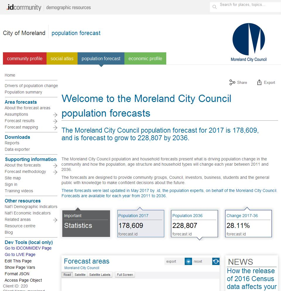 City of Moreland